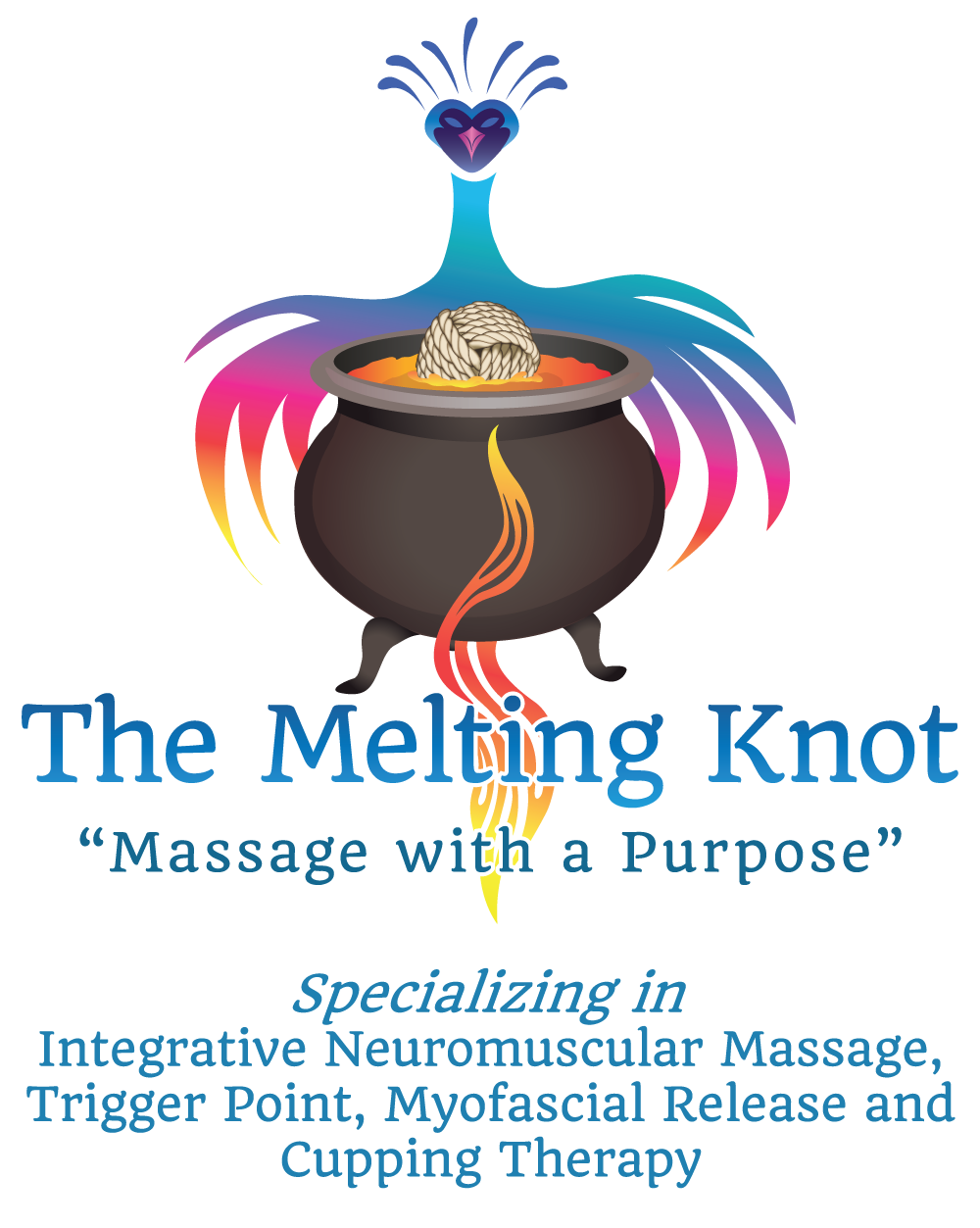 The Melting Knot-  Massage with a Purpose - Integrative Neuromuscular Massage, Trigger Point, and Myofascial Release and Cupping Therapy
